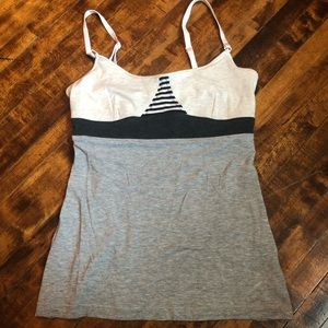 Lululemon Strappy Colorblock Striped Tank Top